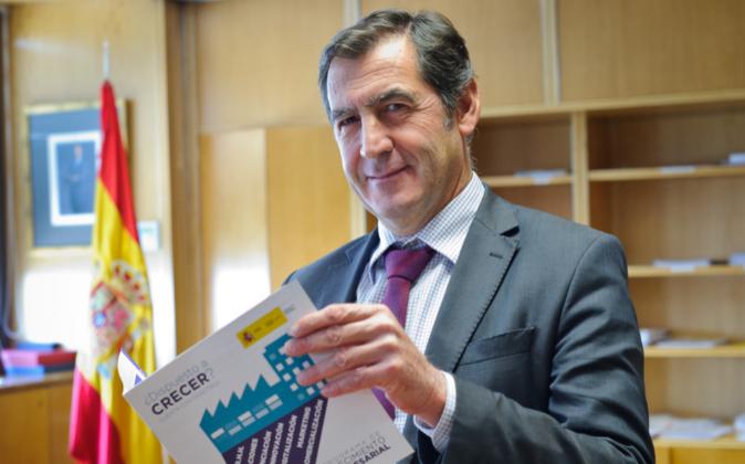 Víctor Audera, director general de Industria y de la Pequeña y...