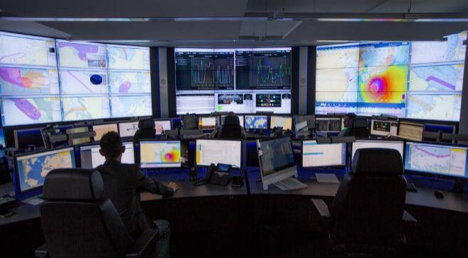Centro de control de operaciones de Carnival Corporation