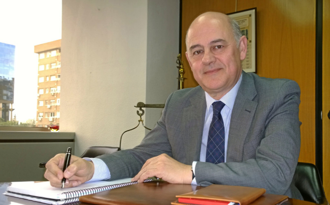 El presidente de Sniace, Blas Mezquita.