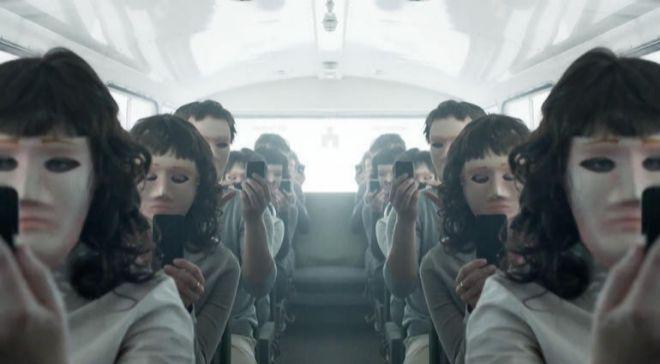 Fotograma de la serie británica 'Black Mirror', que...