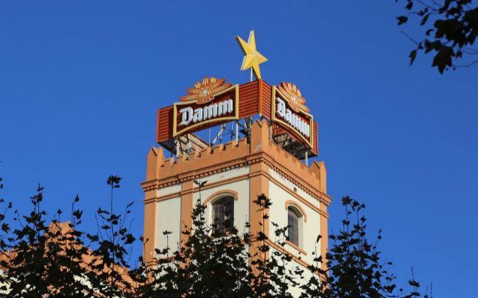 Antigua fábrica de Damm en Barcelona.