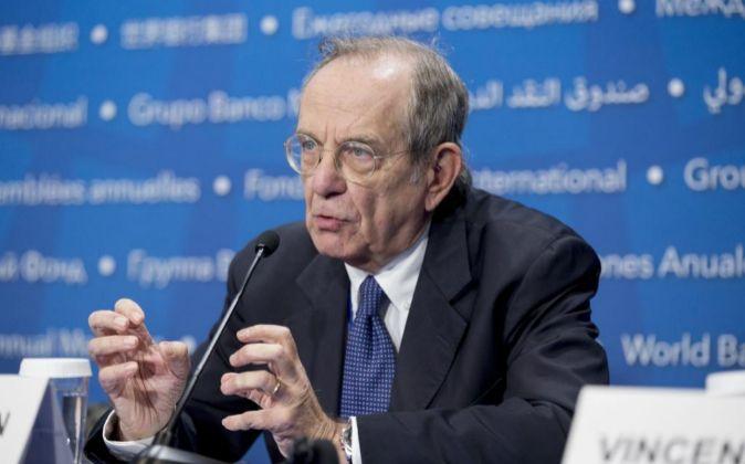El ministro italiano de Finanzas Pier Carlo Padoan.