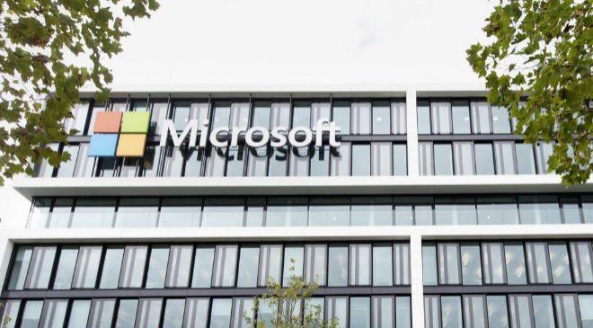 Oficina de Microsoft en Munich (Alemania).
