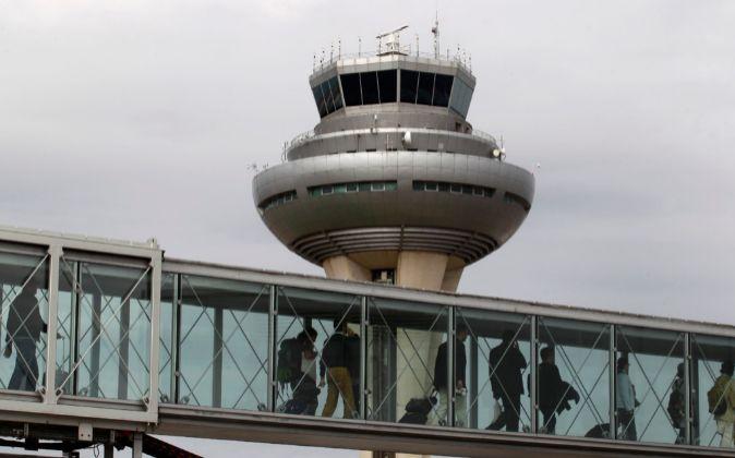 Torre de control del Aeropuerto Adolfo Suárez Madrid-Barajas