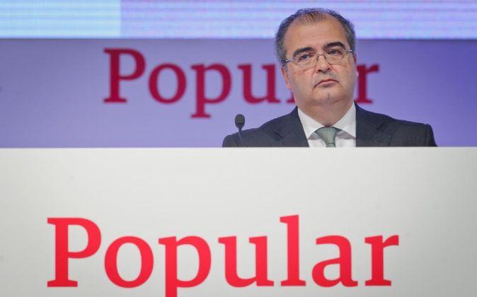 Ángel Ron, presidente de Popular