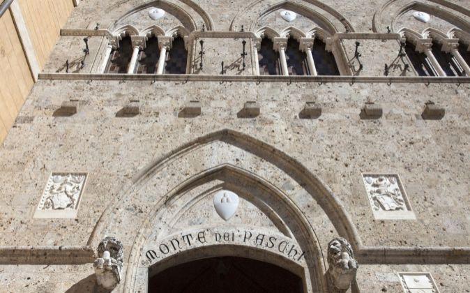 Sede de Monte dei Paschi di Siena, en la ciudad de Siena.