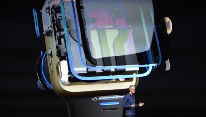 Presentación del último Apple Watch.