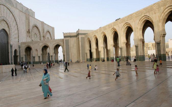 Mezquita Hassan II (Casablanca, Marruecos)