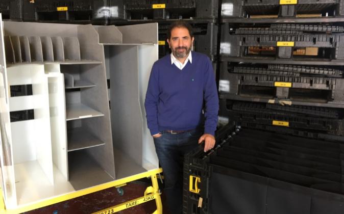 Íñigo Valeiras, fundador de EXLA Plásticos.