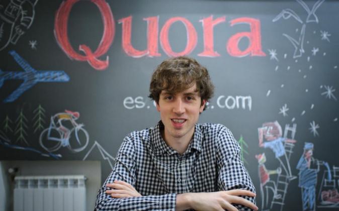 Adam D'Angelo, fundador de Quora y cofundador de Facebook Foto:...