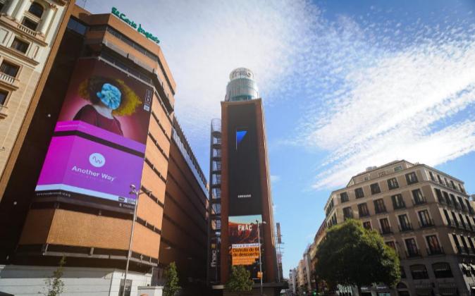Enclave comercial de la Plaza de Callao, en Madrid.