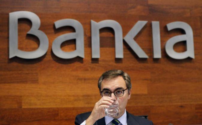 José Sevilla, en la presentación de resultados de la entidad.