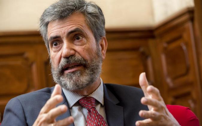 Carlos Lesmes, presidente del CGPJ y del Tribunal Supremo.
