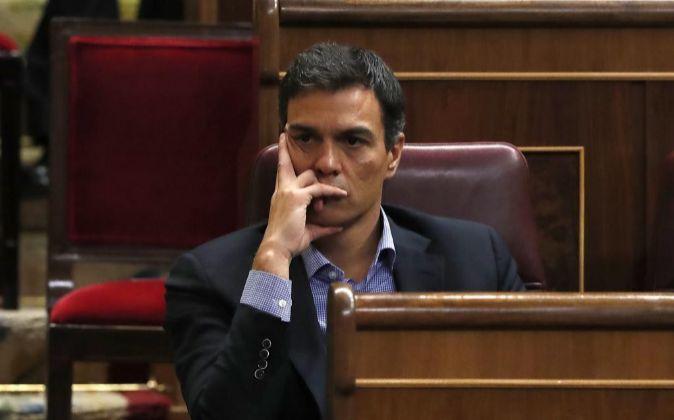 El exsecretario general del PSOE, Pedro Sánchez.