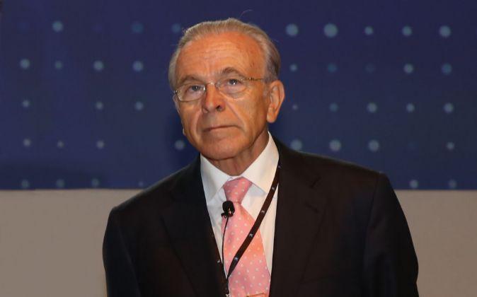 Isidro Fainé, presidente de la Fundación Bancaria La Caixa,...