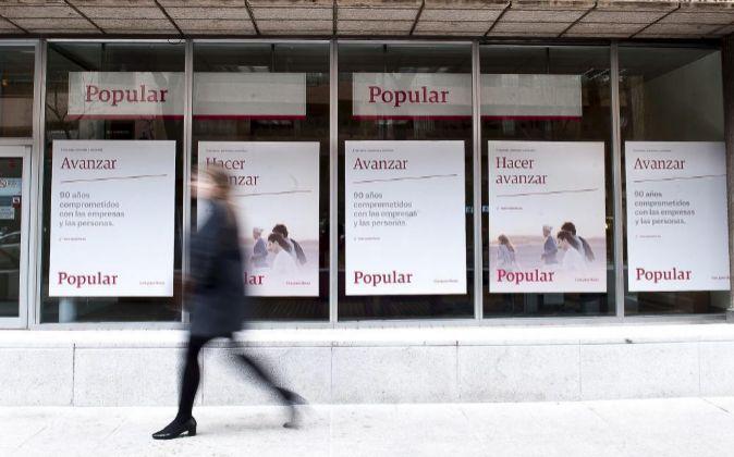 Imagen de una oficina de Banco Popular