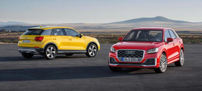 Audi Q2.