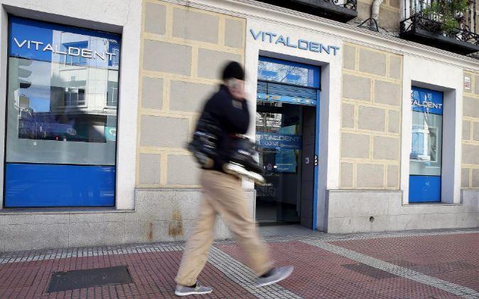 Fotos Clinica Vitaldent en la calle Eloy Gonzalo (Madrid).