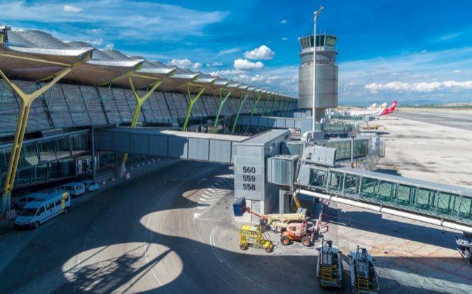 Terminal T4 del aeropuerto Adolfo Suárez Madrid Barajas.