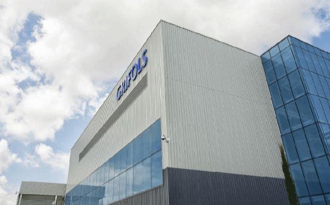 Imagen del edificio de Grifols