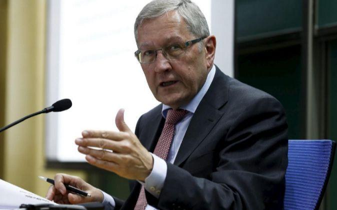 El director ejecutivo del Mecanismo Europeo de Estabilidad, Klaus...
