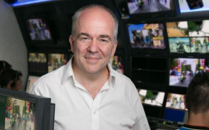 Peter Hutton, CEO de Eurosport.