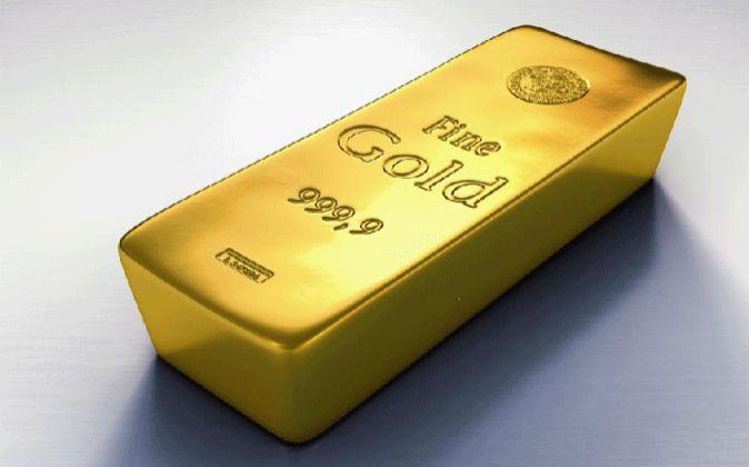 Imagen de un lingote de oro