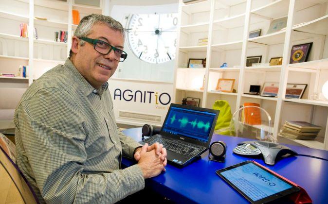 Emilio Martínez, CEO de Agnitio