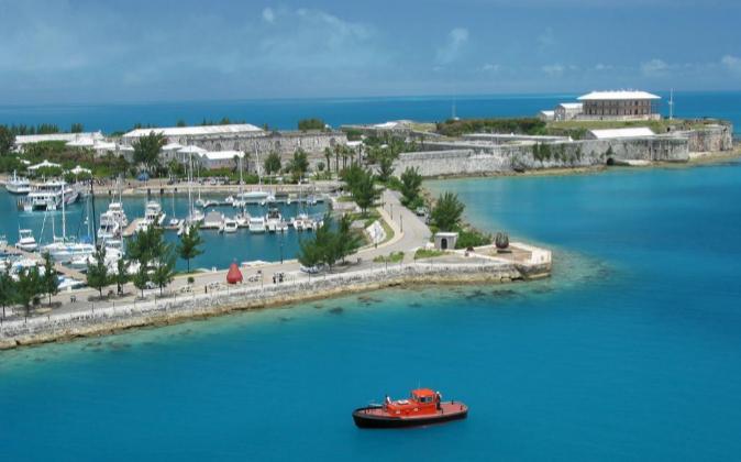 Puerto de las islas Bermudas.