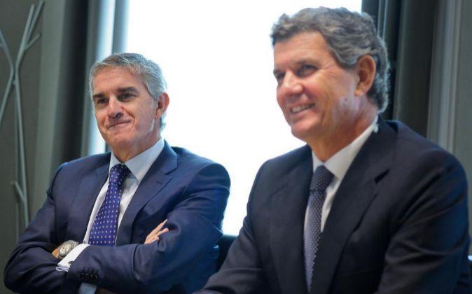 Jon Riberas y Francisco Riberas, dueños de Gestamp y Gonvarri.
