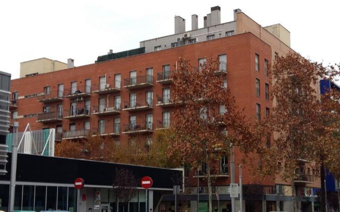 Imagen de uno de los activos adquiridos por Catella, en Barcelona.