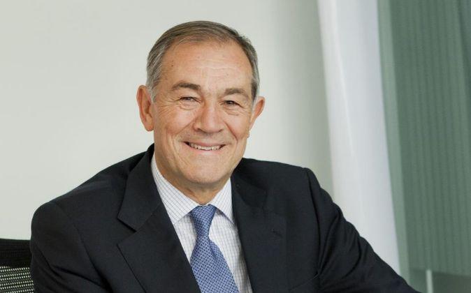 José Domingo de Ampuero y Osma, presidente de Viscofan. Vertical