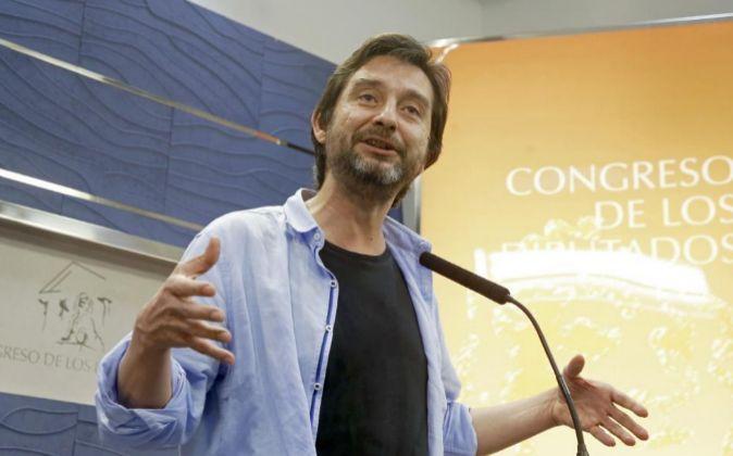 El responsable de Relaciones con los Movimientos Sociales de Podemos,...