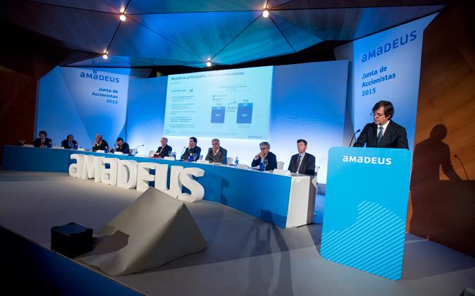 Junta de accionistas 2015 de Amadeus