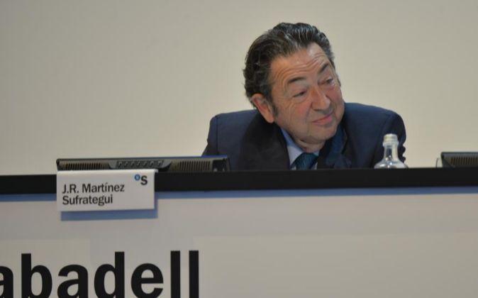 José Ramón Martínez Sufrategui, consejero de Banco Sabadell
