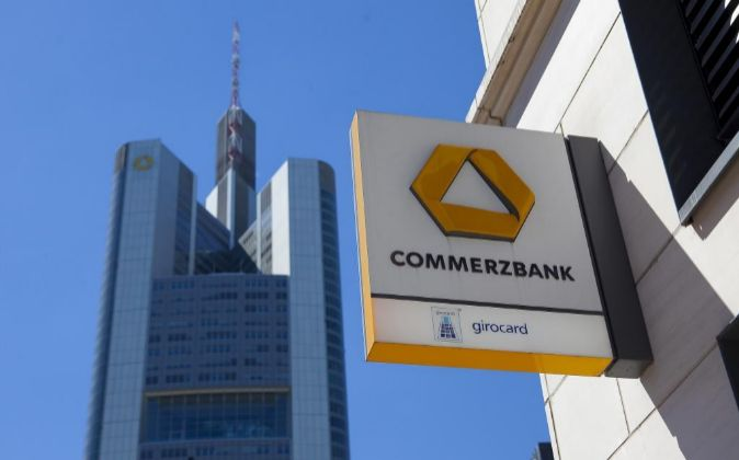 Sede de Commerzbank en Fráncfort, Alemania.