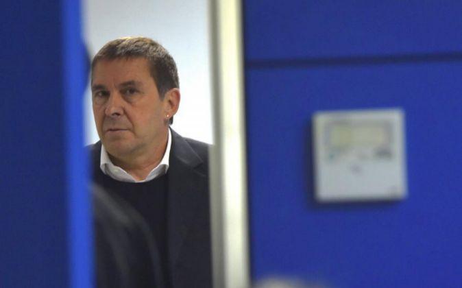El líder de EHBildu  Arnaldo Otegi.