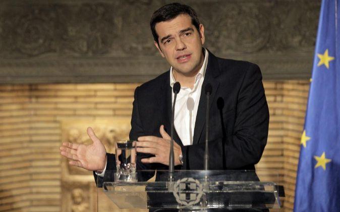 El primer ministro griego Alexis Tsipras.