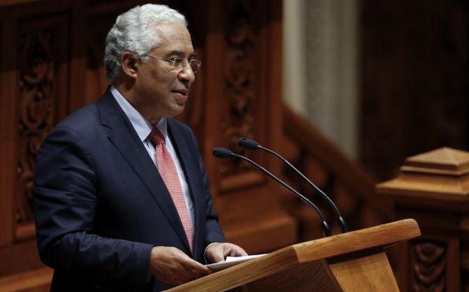 El primer ministro portugués Antonio Costa.