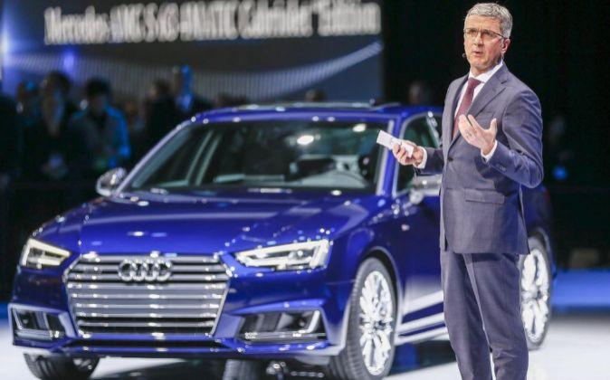El consejero delegado de Audi Rupert Stadler.