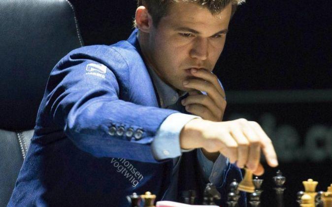 Magnus Carlsen, actual campeón mundial de ajedrez.