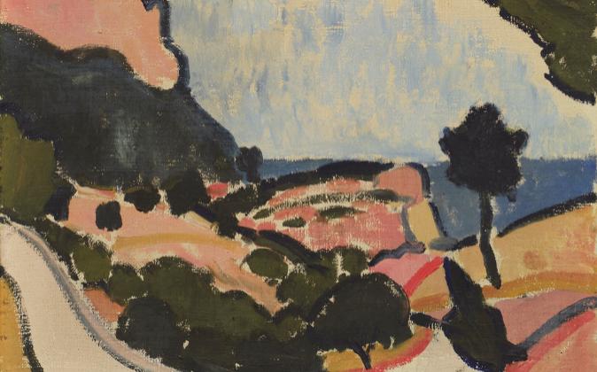 'Paisaje cercano a Cassis' (1907) de André Derain.