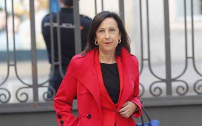 La diputada socialista Margarita Robles fue una de las que rompió la...