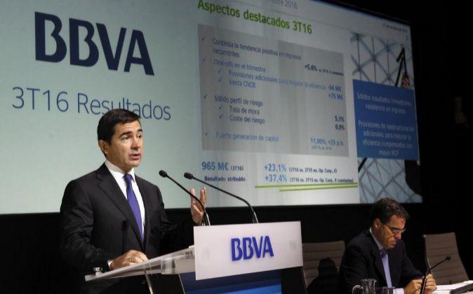 El consejero delegado del BBVA, Carlos Torres.