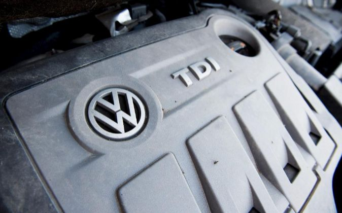 Motor de Volkswagen.