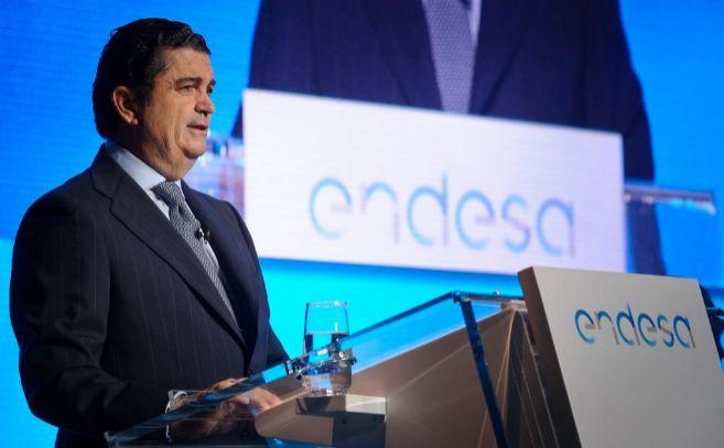 El presidente de Endesa, Borja Prado, durante la última junta de...