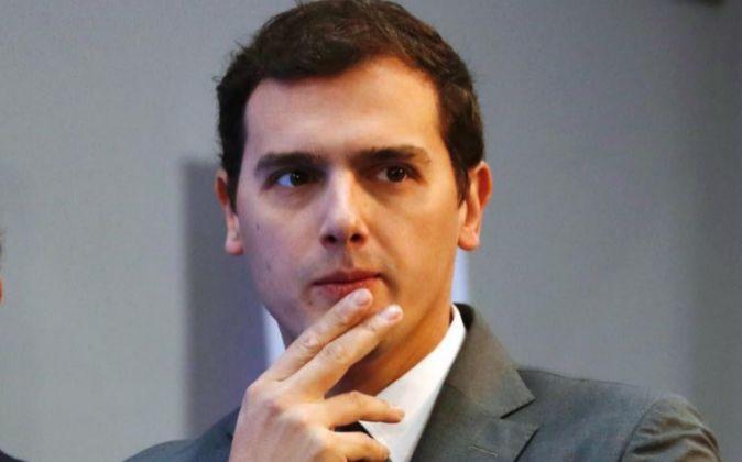 El presidente de de Ciudadanos, Albert Rivera.