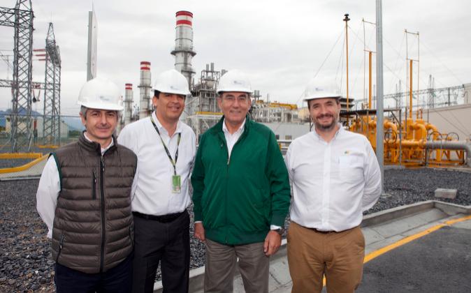 De izda. a dcha: Enrique Alba, director general de Iberdrola en...