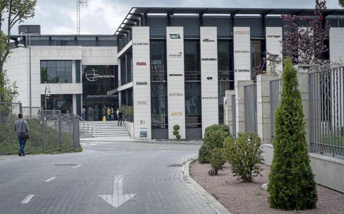 Sede de Unidad Editorial, en Madrid.
