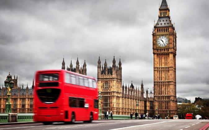 Fotografía de archivo. Big Ben de Londres.